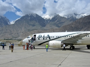 Skardu Airport - 45 Minutes flight time from Islamabad