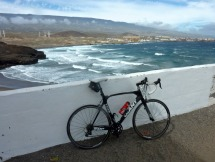 Windy conditions at Poris de Abona